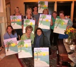 group painting party